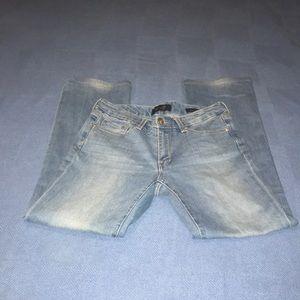 Seven7 blue jeans,boot cut (size 6)
